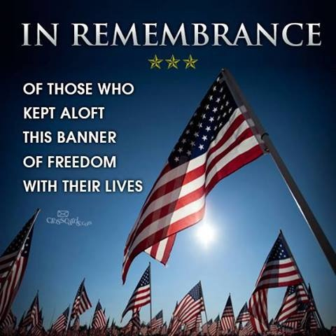 Thanks to those both at home & abroad who RISK ALL to stand up for our FREEDOM, RIGHTS & CONSTITUTION.