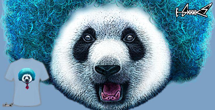 T-shirts - Design: PandaAfro - by: ADAM LAWLESS