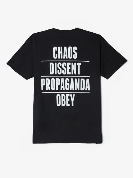 Chaos Dissent Propaganda Tee
