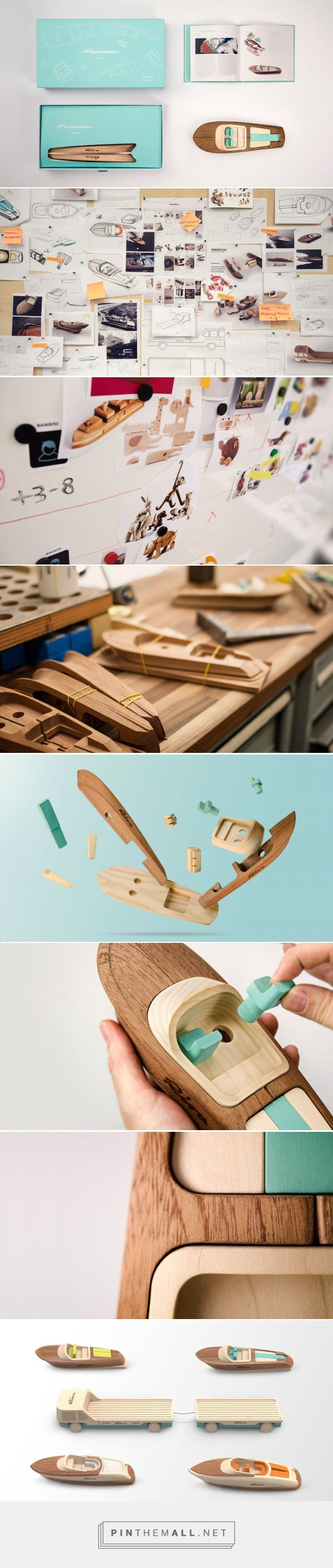 """Toy versions of classic Rivas, """"the soul of a boat comes from the raw materials used to make it"""" 