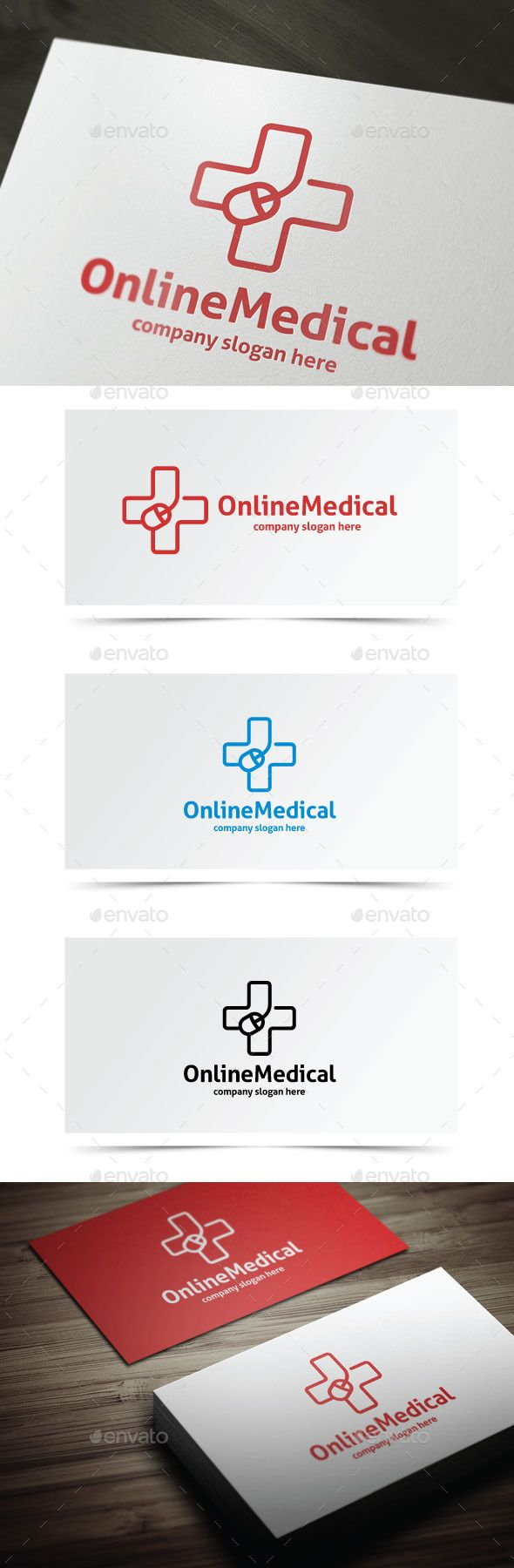 Online Medical — Photoshop PSD #computer #hospice • Available here → https://graphicriver.net/item/online-medical/10638048?ref=pxcr
