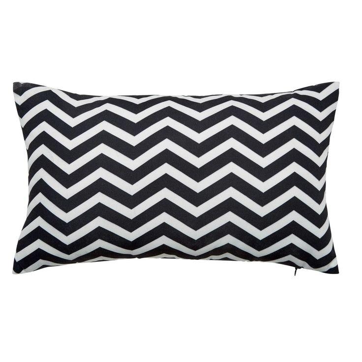 TALAIA white/black outdoor cushion 30 x 50cm