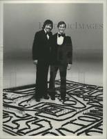 1975 Press Photo Tony Orlando and Bob Speca on Televisions Tony Orlando and Dawn