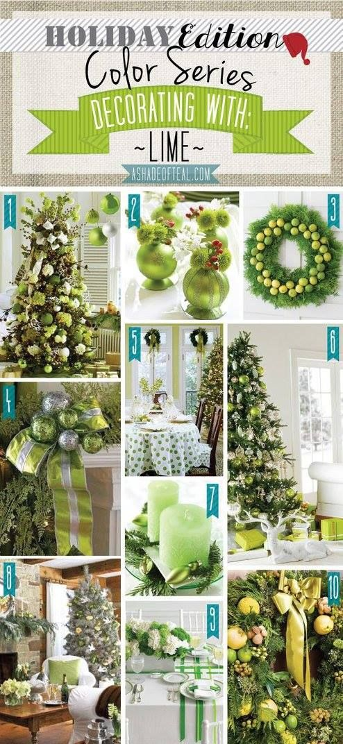523 best images about christmas winter on pinterest for Lime green home decorations