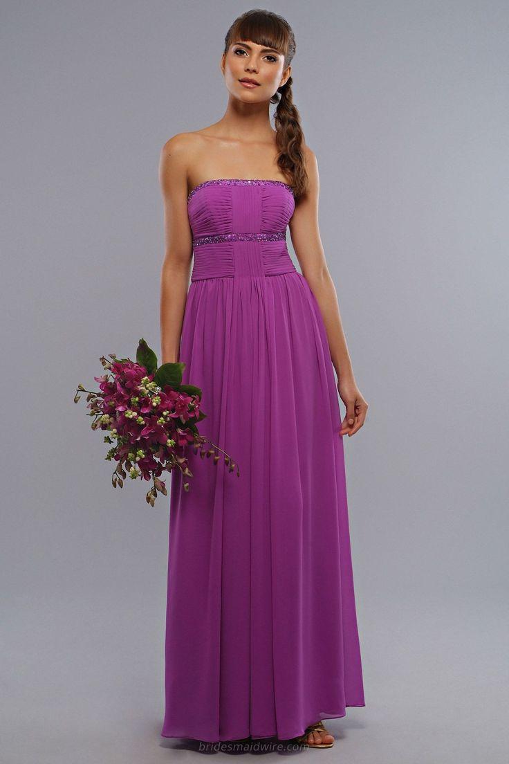 28 best Fuschia Bridesmaid Dresses images on Pinterest | Fuschia ...
