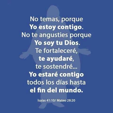Mateo 28:20/Isaias 41:10