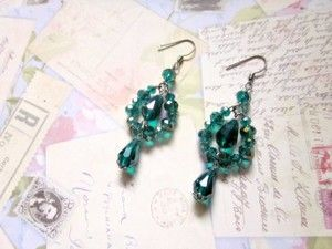 #GREEN #EMERALD #TEARDROP #CRYSTALS CHANDELIER #EARRING by Eji Jewelry - #handmade jewelry #handmadejewelry #crystalearrings #jewelry #fashionstatement #sparklingaccessories #accessories #womanjewelry #jewelrystore #jewelrydesigner #jewelrydesign #women #woman #handmade #craftjewelry #beaded jewelry #jewellery #jewelryblog #sellinghandmadejewelry #selling #onlinestore #shopping #party #partyearrings #bridesmaid #bridesmaidjewelry #partyjewelry #crystals #classy