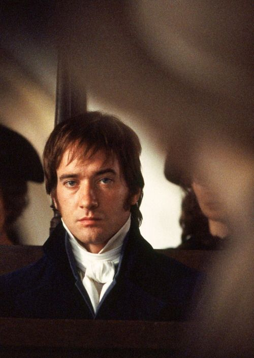 Matthew Macfadyen as Mr. Darcy in Pride and Prejudice