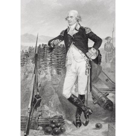 George Clinton 1739-1812 Revolutionary War Hero And Fourth Vice-President Of The United States From Painting By Alonzo Chappel Canvas Art - Ken Welsh Design Pics (11 x 17)