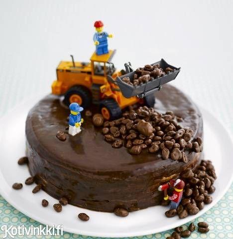 Kaivurityömaakakku