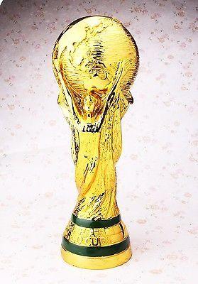 Trofeo WORLDCUP FIFA2014 Trophy Full Real Size ResinTitan REPLICA 1:1 36cm 2kg