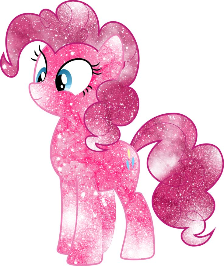 Galaxy Pinkie Pie by DigiTeku.deviantart.com on @deviantART