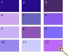 Фиолетово-синий цвет