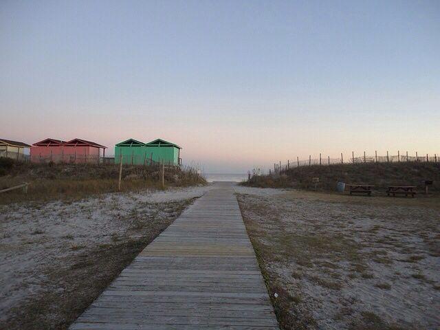 Onslow beach, North Carolina.