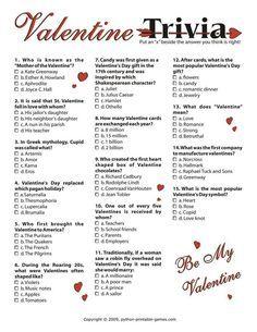 Valentine's Day: Trivia I, $3.95