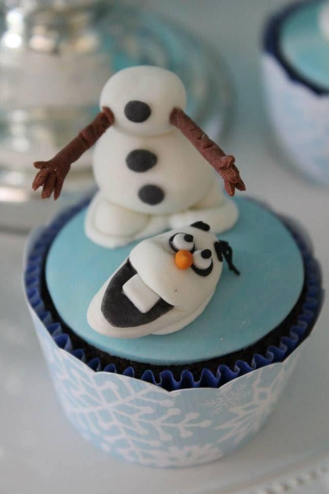 Frozen | Cupcake Disney Frozen - Senhora Inspiração!