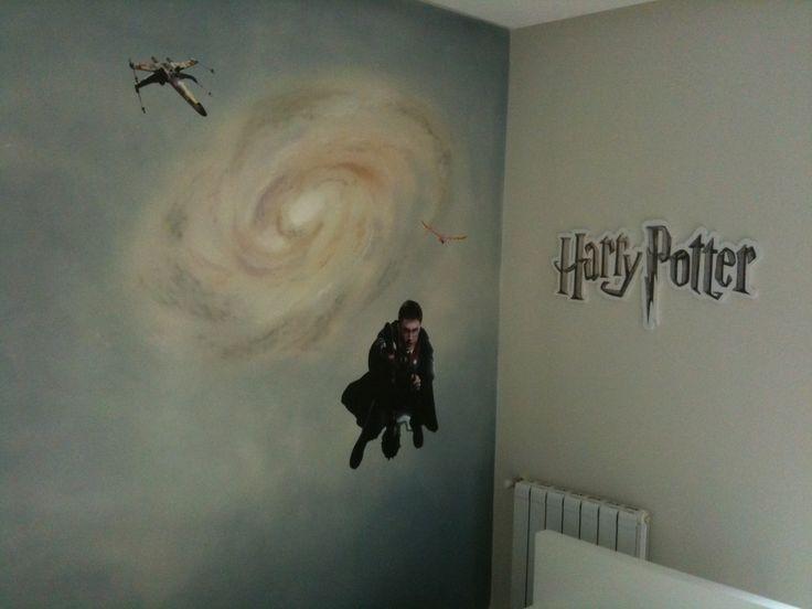 Logo Corpóreo Harry Potter. Grafica autoadhesiva Star Wars y Harry Potter