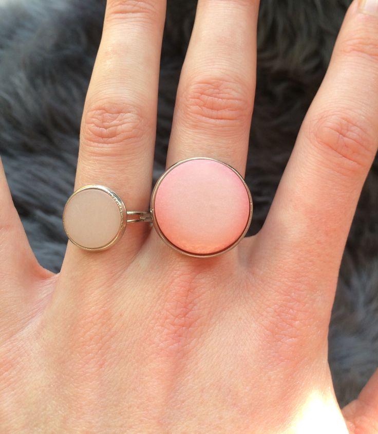 Wij zijn zo blij met onze eigen stone ring collectie :-) | ze zijn ook erg leuk met elkaar te combineren
