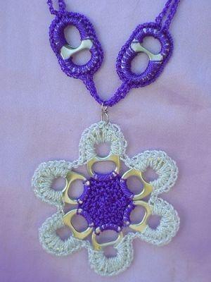 recycle soda tabs: crochet pattern | make handmade, crochet, craft