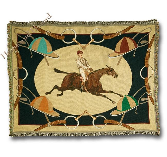 celebrated century horse racing throw inspired by 19th century horse racing art center