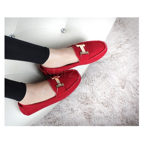 Womens Loafers Shoes Stylish Modern Feel Oxford Vintage Style Flat Shoes 753JS | eBay