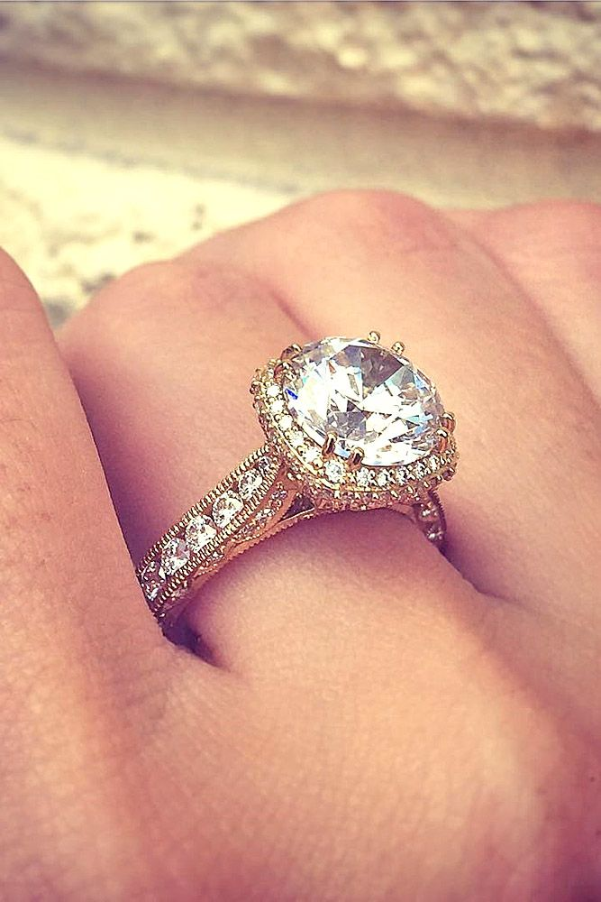 Vintage Engagement Rings With Stunning Details ❤ See more: http://www.weddingforward.com/vintage-engagement-rings/ #weddings anillos de compromiso | alianzas de boda | anillos de compromiso baratos http://amzn.to/297uk4t