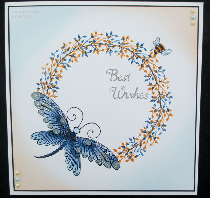 Card made using Lavinia stamps.