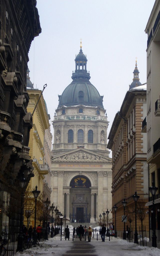 St. Stephen's Dome, Budapest (by keithmaguire)