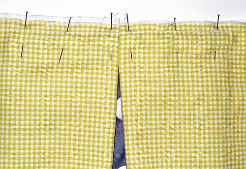 visual crib skirt tutorial