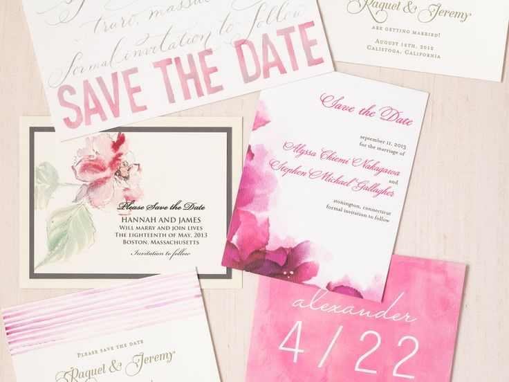 Save-the-Date Etiquette | Photo by: Devon Jarvis | TheKnot.com
