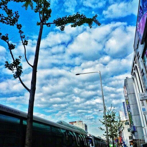 Image Share  今日もソウルの空を見る…