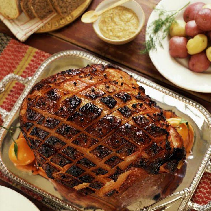jack daniels mustard ham glaze