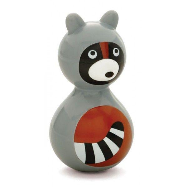 #Baby #speelgoed #tuimelaar #wasbeer #kidO #toys #raccoon #littlethingz2