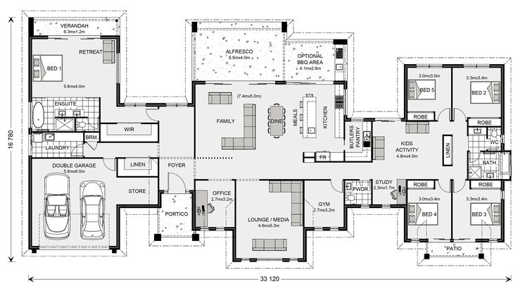 73 Best Images About L Shape House Plans On Pinterest