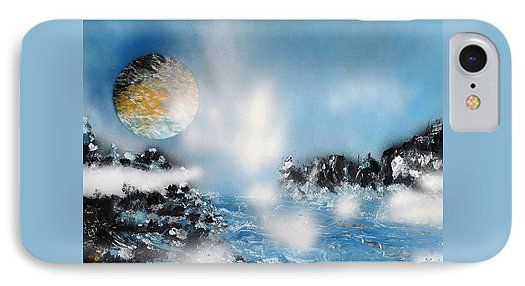 Printed with Fine Art spray painting image Light Rain by Nandor Molnar (When you visit the Shop, change the orientation, background color and image size as you wish)