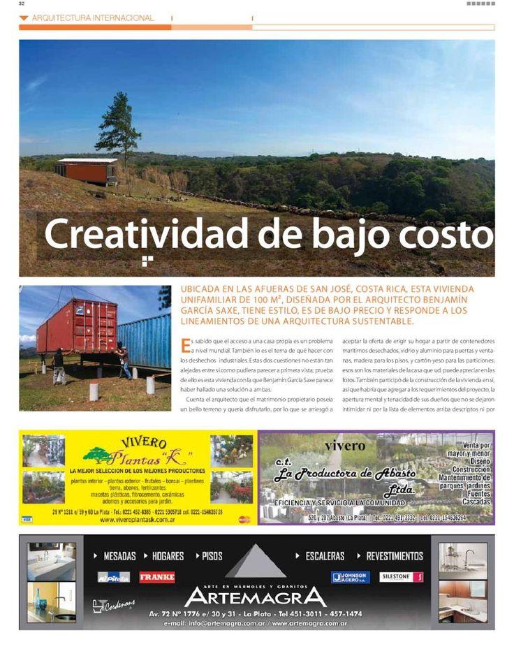 #ClippedOnIssuu desde Edición Nº 96 Mayo LA PLATA