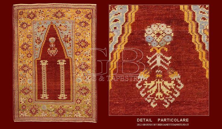 Tappeto panderma antico tappeti antichi persiani e - Tappeti turchi vintage ...