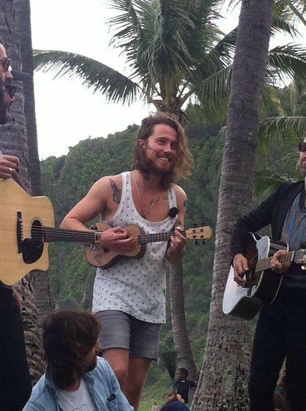 Julien Doré au festival du Sakifo à la Réunion le 6 juin 2015
