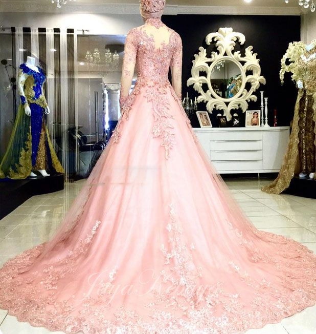 ball gown kebaya wedding