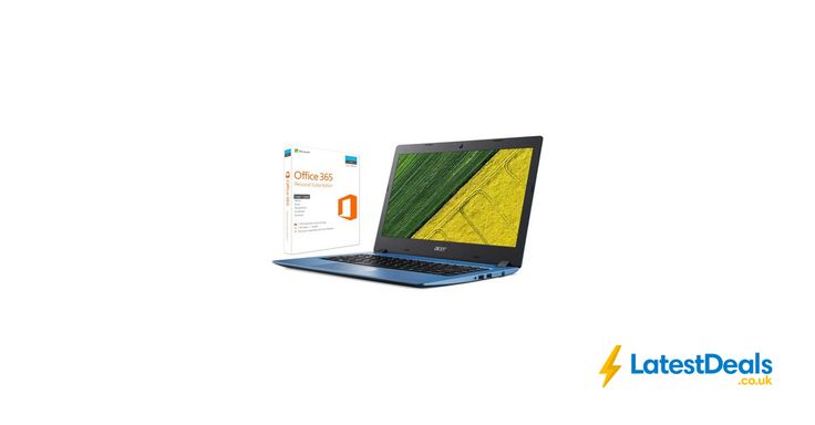 "Acer Aspire 1 14"" Laptop Includes Office 365 Personal, £229 at AO.com"