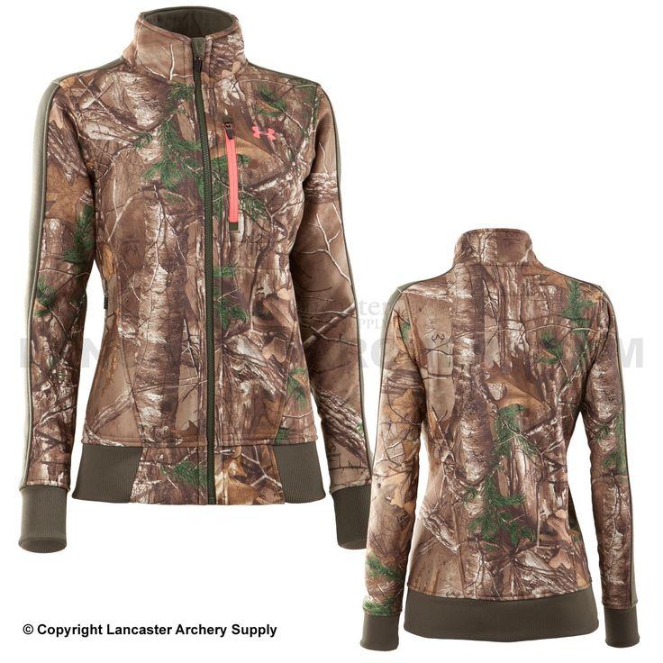 camo under armour jacket women's