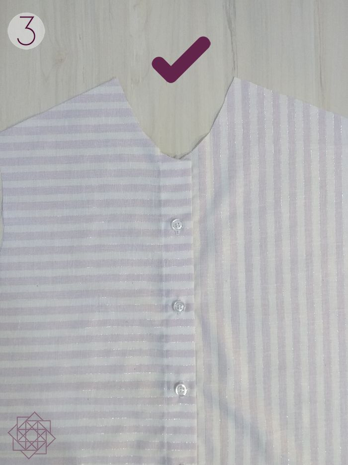 Costura Fácil Camisa A Rayas Molde Gratis Tutoriales De Costura Costura Costura Facil