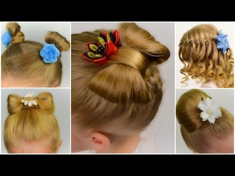 TOP 5 SPECTACULAR hairstyles in 5 minutes. BACK TO SCHOOL. COMPILATION #2 - YouTube