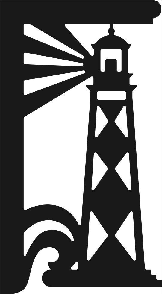Lighthouse Corner Or Shelf Bracket From Www