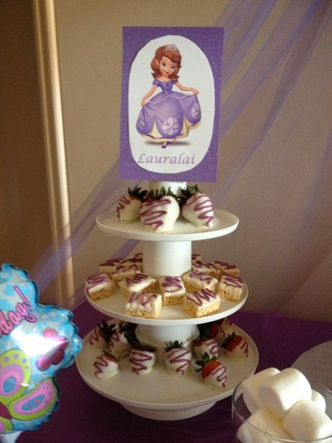 Sofia the First Birthday Party Ideas | Photo 1 of 13 | Catch My Party