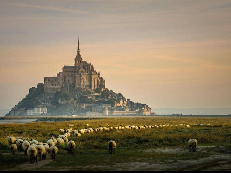 Mont Sant-Michel in Normandy