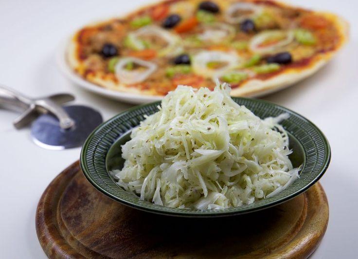 Pizzasallad