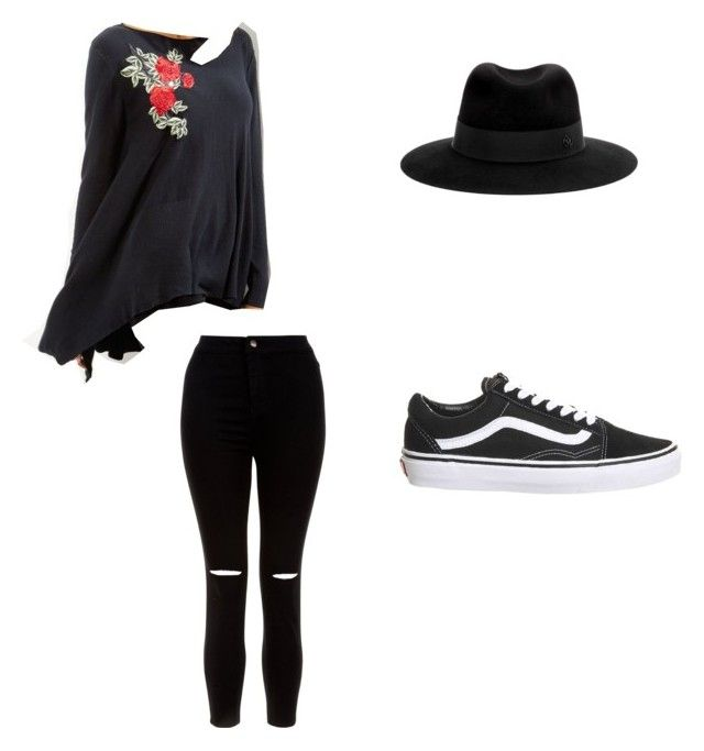 sold by pikenaagel on Polyvore featuring New Look, Topshop and Maison Michel