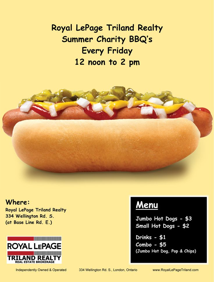 Royal LePage Triland Realty, Brokerage Charity BBQ