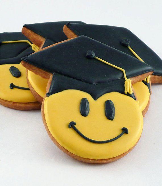 Decorated Cookies  Graduation  Happy Graduate by katieduran, $42.00